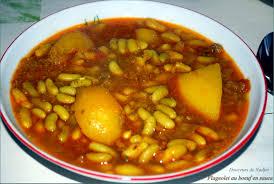 cuisiner des flageolets flageolet au boeuf en sauce loubia grini http
