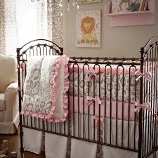 Cheetah Bedding Captivating Pink Leopard Print Crib Bedding Simple Home Decorating