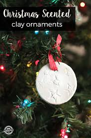 scented clay ornaments