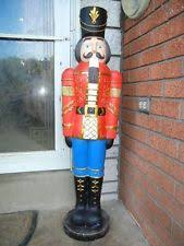 large outdoor nutcracker garden soldier sound light