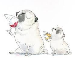 Items Similar To Art Print - items similar to pugs en tutu 5x7 pug art print pugs in tutus