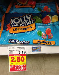 where to buy lollipops kroger jolly rancher lollipops only 0 70 reg 3 19 free