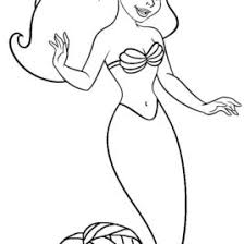 mermaid coloring book coloring pages literatured