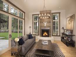 rustic chic living room decor home design ideas