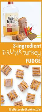 turkey boozy fudge recipe fudge turkey and