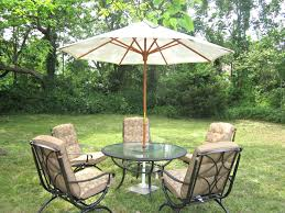 Patio Umbrella Tables by Diy Patio Umbrella Stand Tutorial Adorable Table Renate