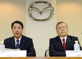 mazda motor corp mazda back in black will replace chief the japan times