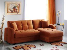 orange leather sectional sofa magnificent orange leather sofa about kubo orange rf sectional sofa