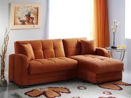 Orange Leather Sectional Sofa Orange Leather Sofa Aifaresidency