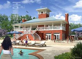 architectural rendering the eagles watch resort hampstead