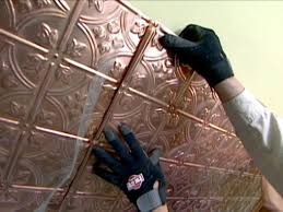 how to install a copper backsplash how tos diy