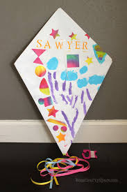 Easy Paper Craft Ideas For Kids - kids craft diy paper kite happiness is homemade