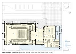national theatre floor plan gallery of national theatre haworth tompkins 26