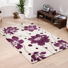 hong kong 1512 rug in cream purple free uk delivery terrys