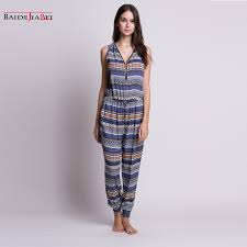 womens cotton jumpsuit rompers womens jumpsuit 2017 summer casual cotton sleeveless one