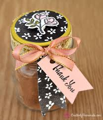 thank you favors petal palette mini jar thank you favors filled with hot