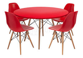 replica eames table and eames chairs set of 4 package for