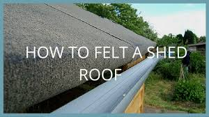 How To Re Roof A Shed With Onduline Corrugated Roofing Sheets by Roof Felting U0026 New Flat Roof Installation