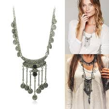 long boho pendant necklace images Long boho necklace images jpg
