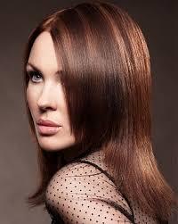 shades of high lights and low lights on layered shaggy medium length blog spot envy hair salon