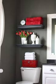 Gray And Black Bathroom Ideas Best 10 Red Bathroom Decor Ideas On Pinterest Grey Bathroom