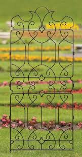 h potter wrought iron large metal ornamental trellis