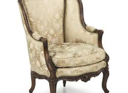 Queen Anne Armchair Queen Anne Style Wingback Chair Upholstered Inlaid Mahogany Wing