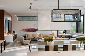 oceanfront home on long island new york contemporary fireplace lighting glass table living space oceanfront home in sagaponack