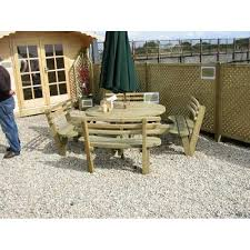 heavy duty round picnic table heavy duty 8 seater round picnic table with backs