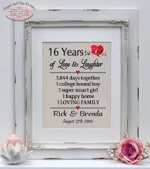 16th wedding anniversary gifts 16th wedding anniversary gift wedding gifts wedding ideas and