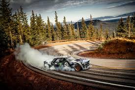 hoonigan cars real life ken block u0027s latest insane drifting video takes place on pikes peak