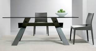 Contemporary Dining Tables by Modern Square Glass Dining Table Diomedia Co