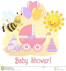 baby shower card royalty free stock photography image 24894327