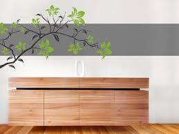 farbige wandgestaltung wandtattoo für den blumenladen ideen für floristen