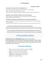 Medical Technologist Resume Sample by Cardiac Sonographer Resume Sample Contegri Com