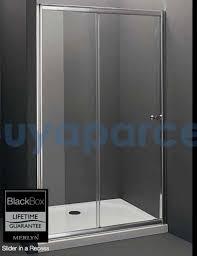 Sliding Shower Door 1200 Merlyn Black Box Chrome 1200mm Sliding Shower Door 1200mm Slider