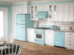 Modern Kitchen Interior 1950s Pastel Colors Kitchen Interior Ideas Home Design