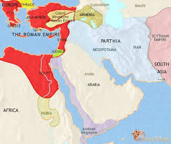 middle east map moses time map of middle east at 30bc timemaps