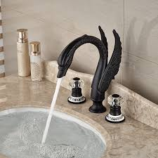 get cheap rubbed bronze swan faucet aliexpress