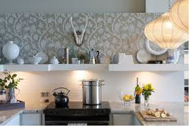 wallpaper in the kitchen is it a no or a go
