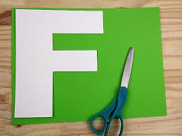 f is for flamingo letter f craft our kid things