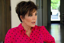 kris jenner haircut side view kris jenner panics about pregnancy on keeping up with the