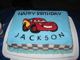 lightning mcqueen birthday cake lightning mcqueen birthday cake jhp party 3