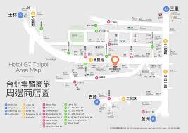 Taipei Subway Map by Location Hotel G7 Taipei