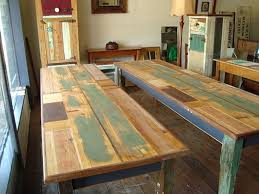 Reclaimed Timber Dining Table The Junk Map Kandos Rustic Recycled Timber Furniture Designs