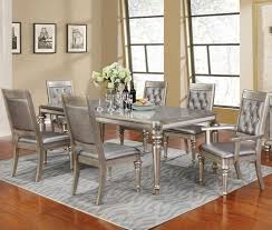 coaster table and chairs coaster danette rectangular dining table set with leaf beck s