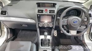 2015 subaru xv interior subaru xv facelift subaru levorg 2015 thailand motor expo