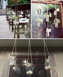 Tin Can Table Decorations Hanging Wedding Decorations Wedding Decoration Inspiration The