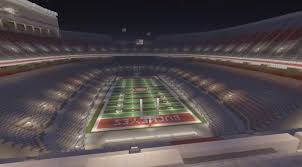 Ohio Stadium Map by Ohio Stadium Ohio State Football Minecraft Creative Build
