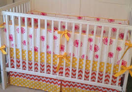 yellow and pink baby bedding beautiful pink decoration